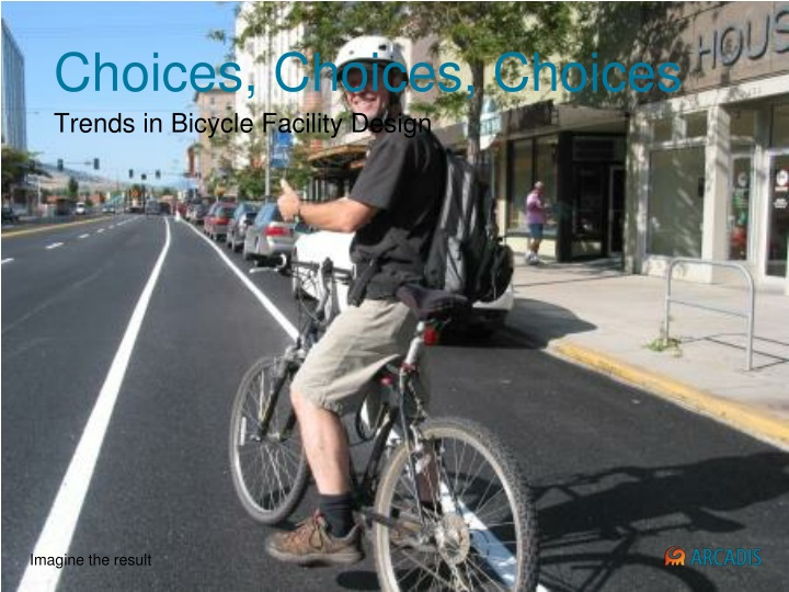 trends in bicycle facility design n.