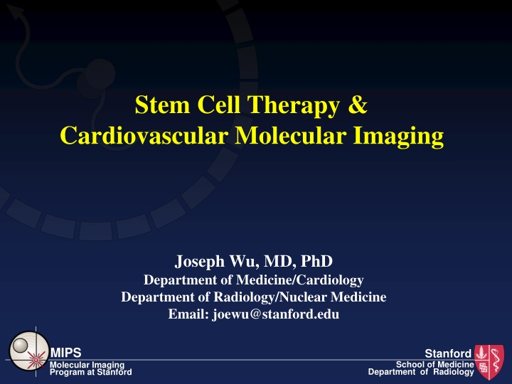 stem cell therapy cardiovascular molecular imaging n.