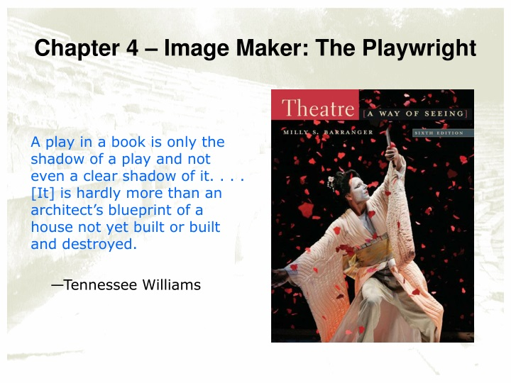 chapter 4 image maker the playwright n.