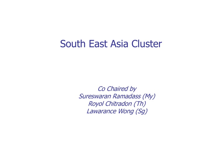 south east asia cluster n.