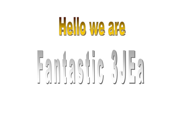 hello we are n.