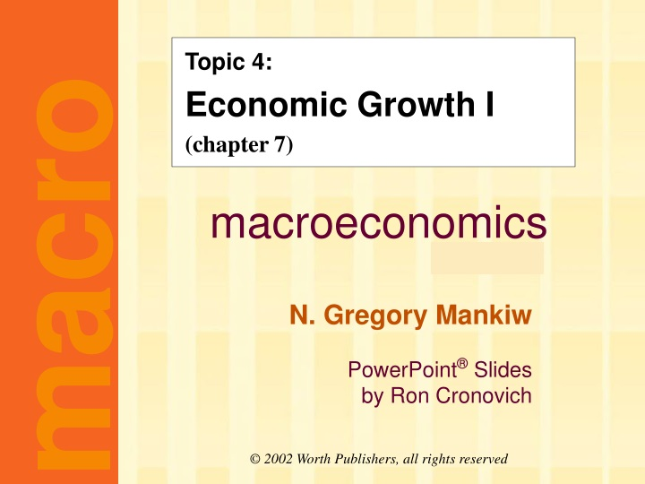 topic 4 economic growth i chapter 7 n.