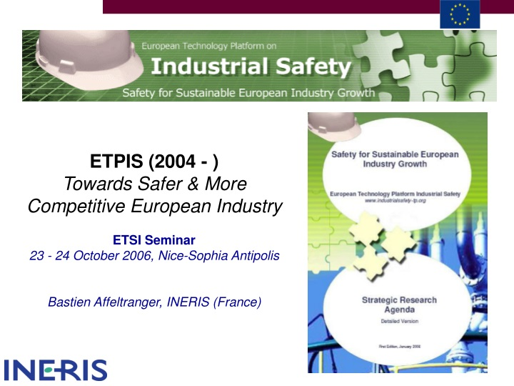 etpis 2004 towards safer more competitive n.
