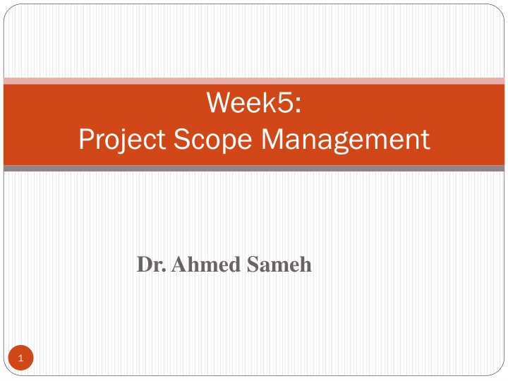 week5 project scope management n.