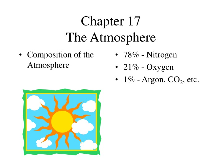chapter 17 the atmosphere n.