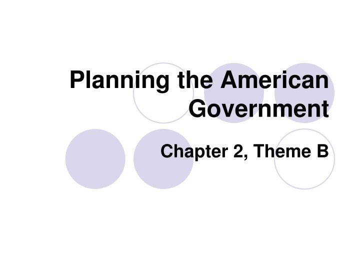planning the american government n.