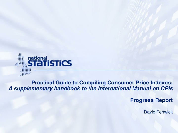 practical guide to compiling consumer price n.