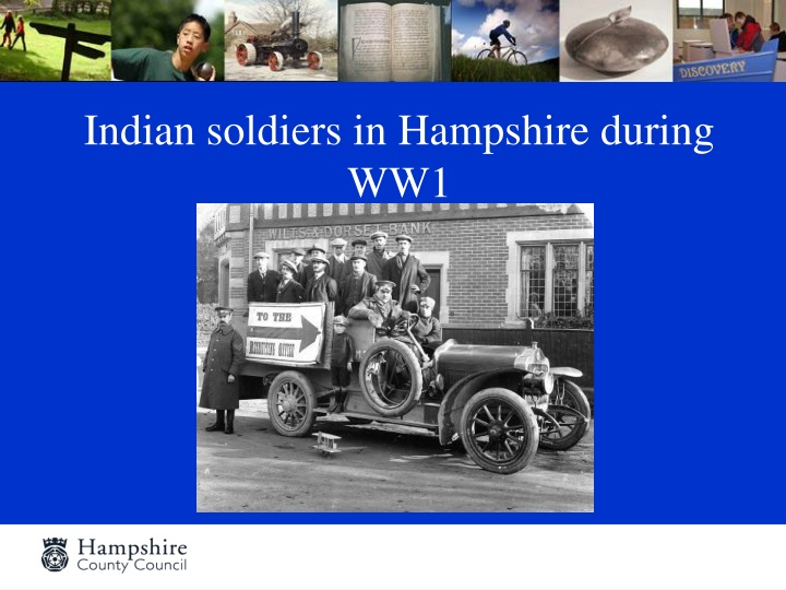 indian soldiers in hampshire during ww1 n.