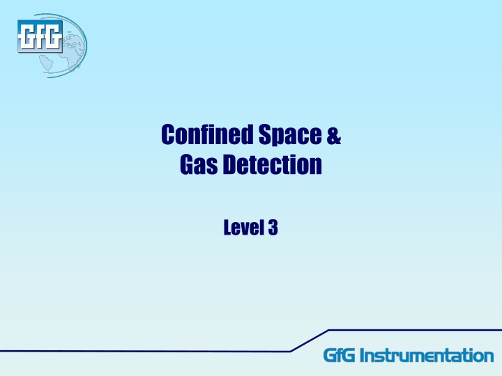 confined space gas detection n.