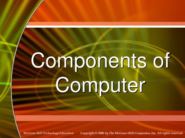 components of computer n.