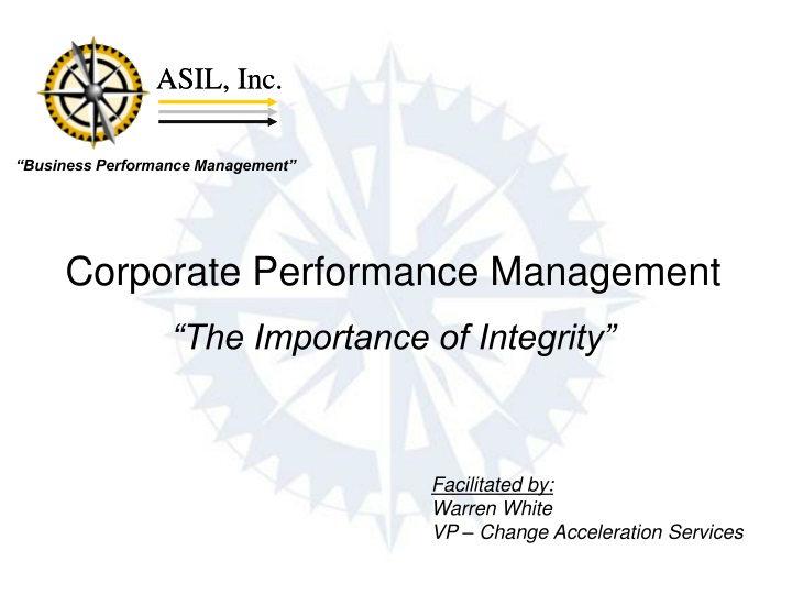 corporate performance management the importance n.