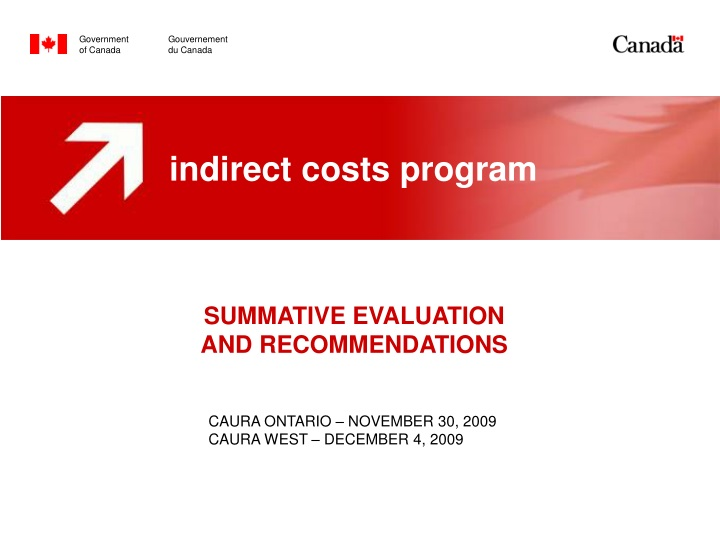 summative evaluation and recommendations n.