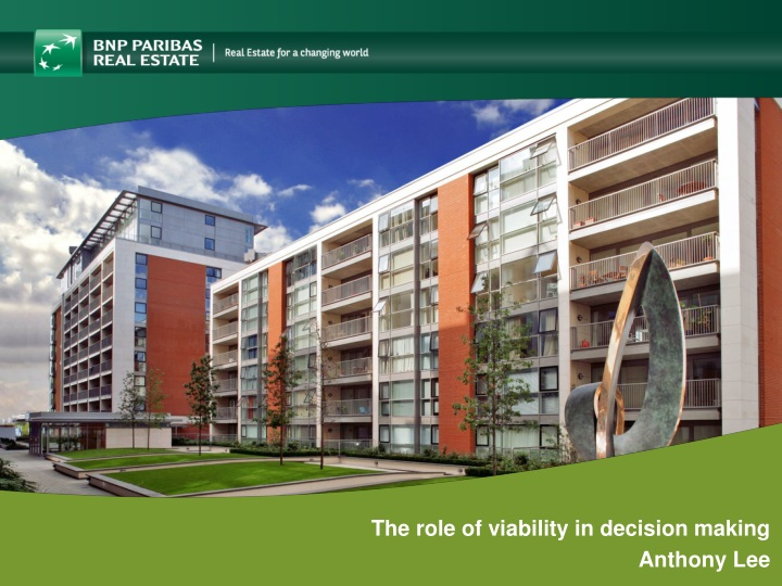 the role of viability in decision making anthony n.