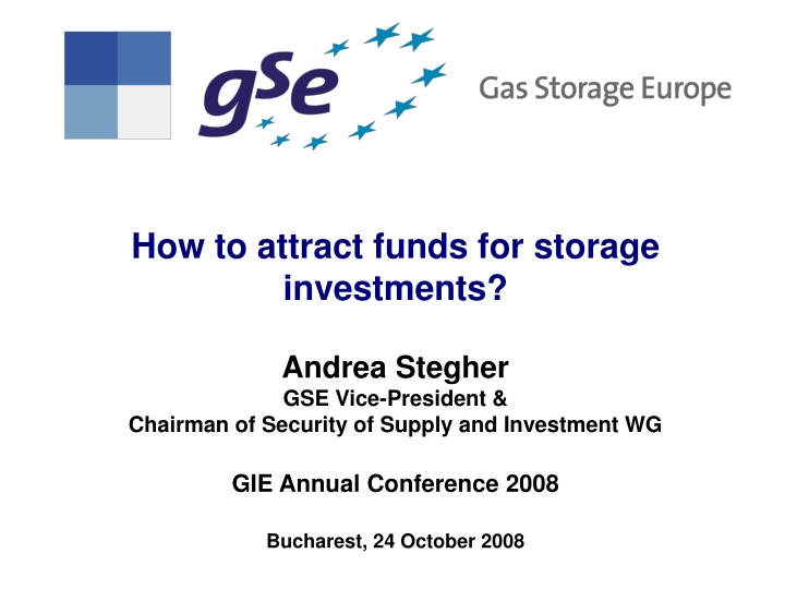 how to attract funds for storage investments n.