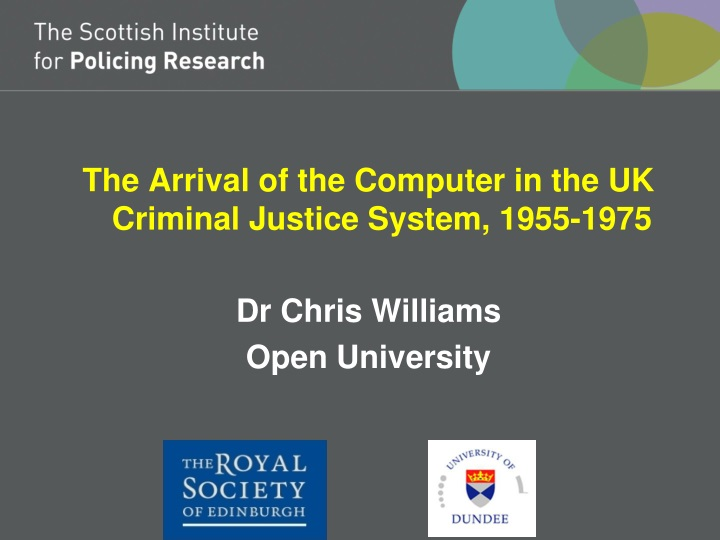the arrival of the computer in the uk criminal n.