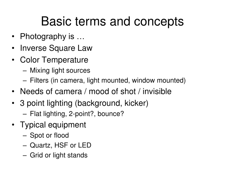 basic terms and concepts n.