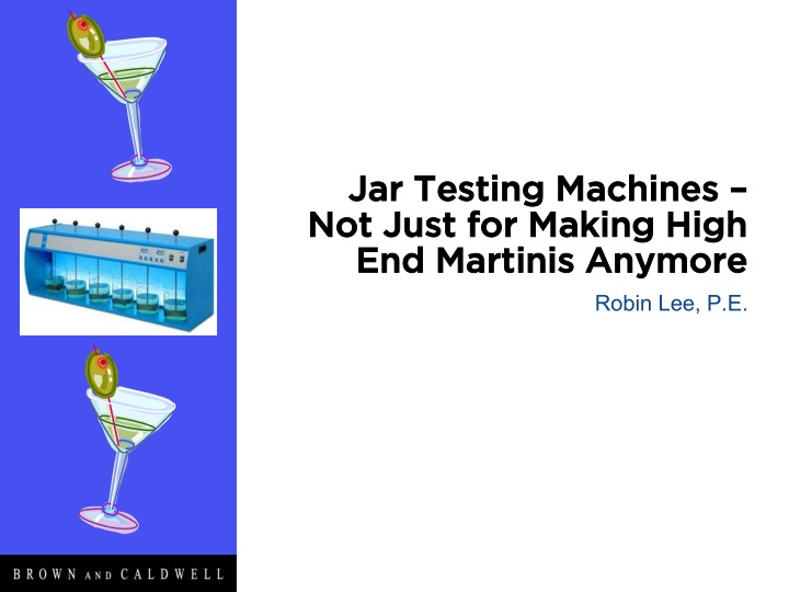 jar testing machines not just for making high end martinis anymore n.
