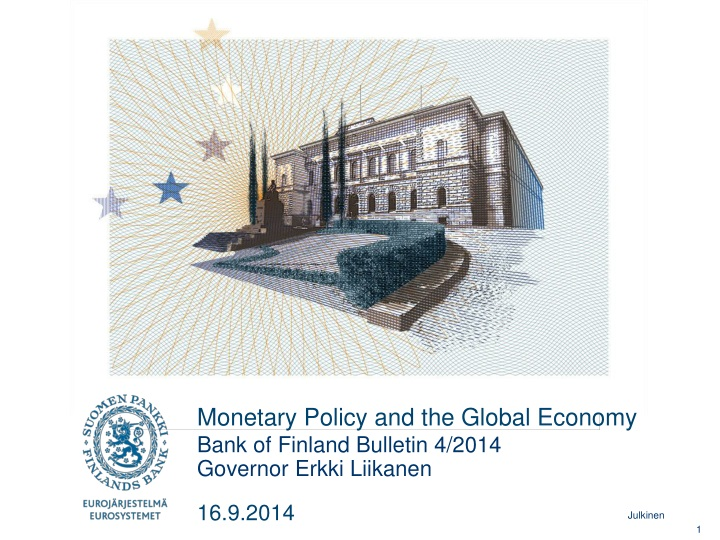 monetary policy and the global economy n.