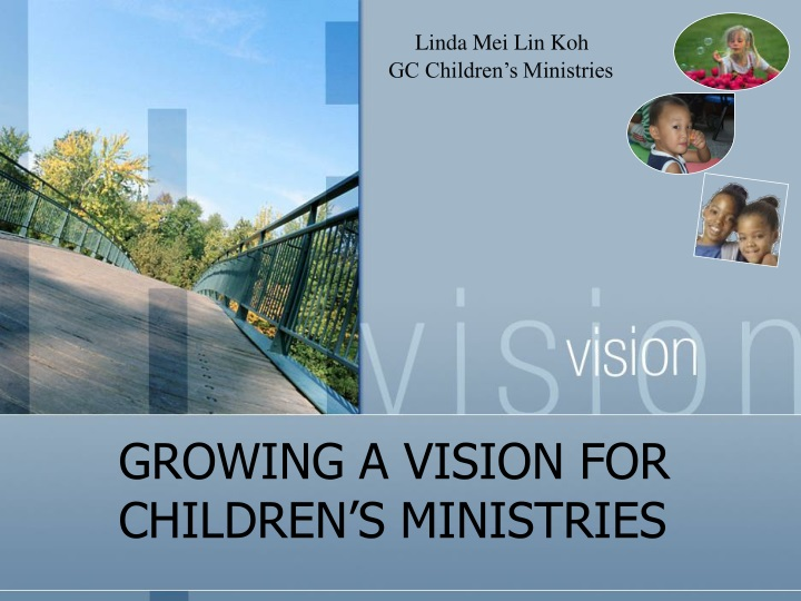 growing a vision for children s ministries n.