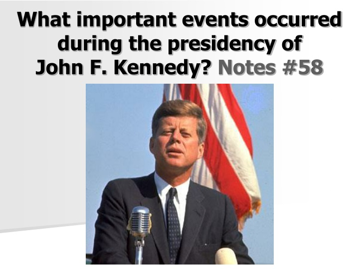 what important events occurred during n.