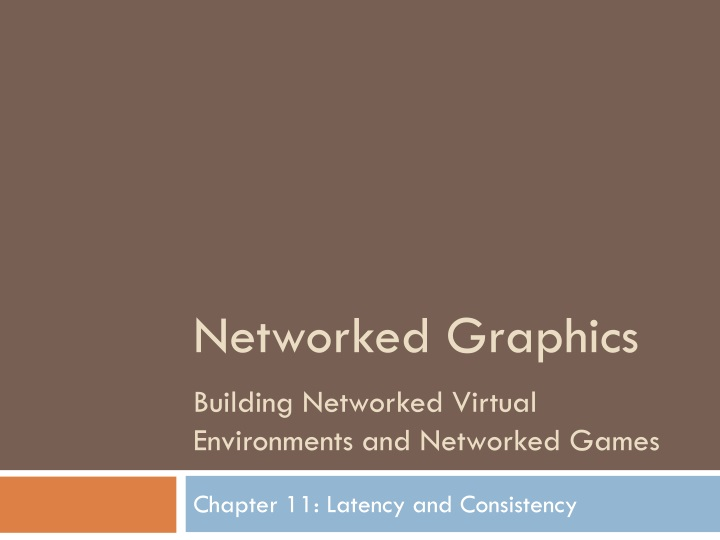 chapter 11 latency and consistency n.