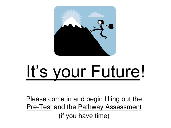 it s your future n.