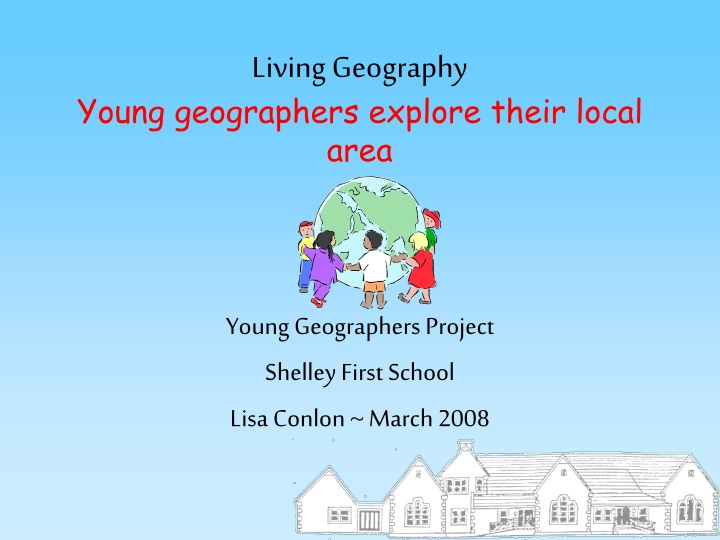 living geography young geographers explore their local area n.