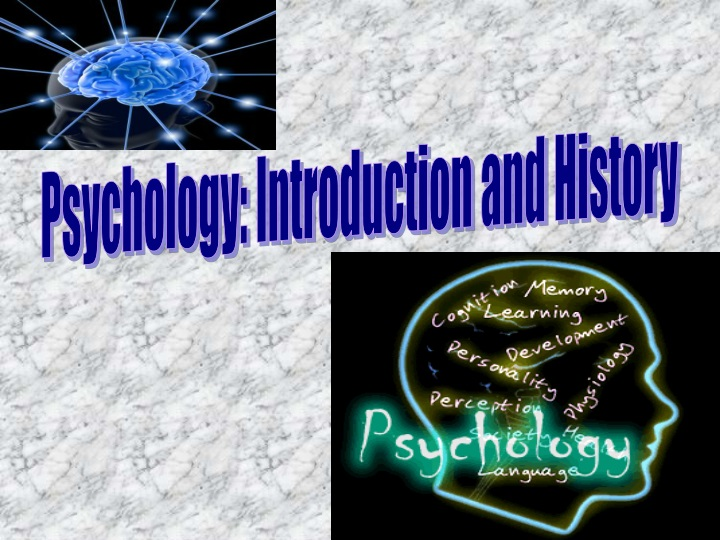 psychology introduction and history n.