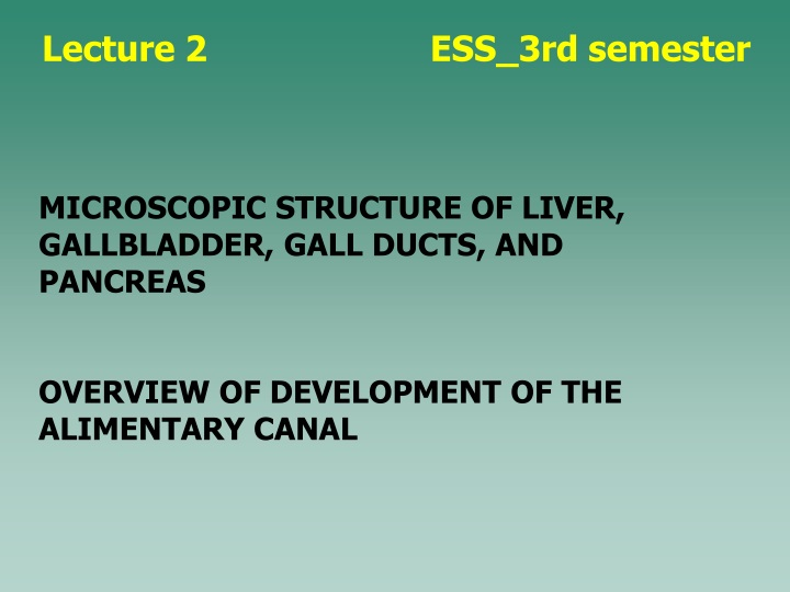 lecture 2 ess 3rd semester n.