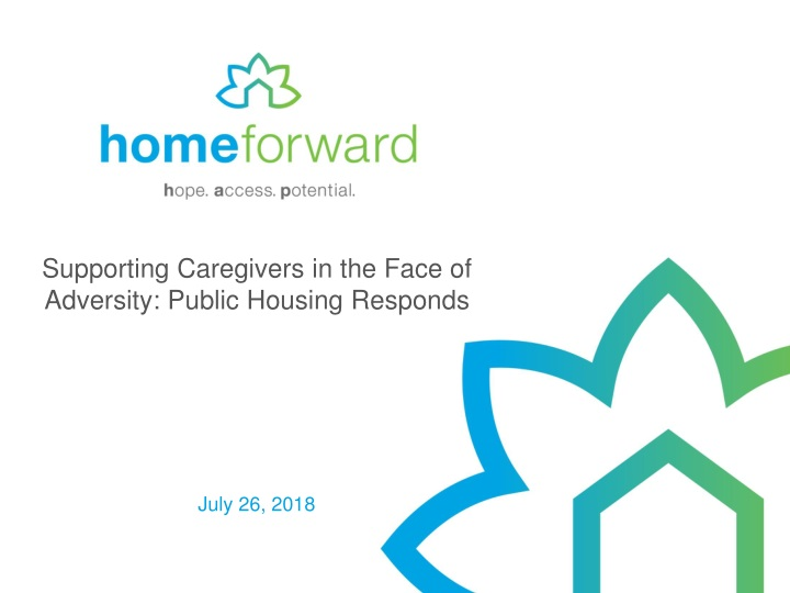 supporting caregivers in the face of adversity public housing responds n.
