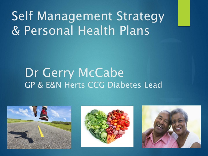 self management strategy personal health plans n.