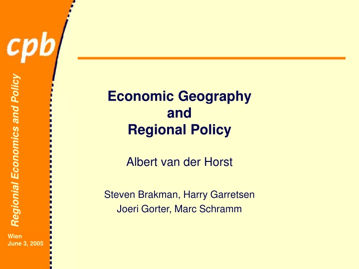 economic geography and regional policy n.