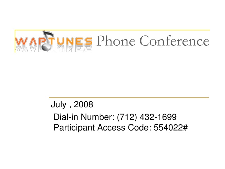 phone conference n.