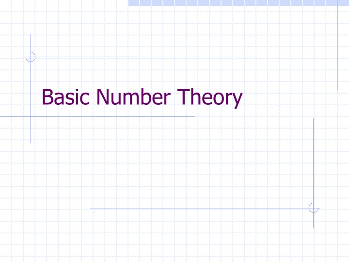 basic number theory n.