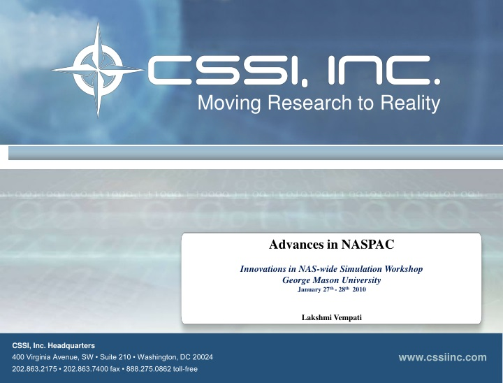 moving research to reality n.