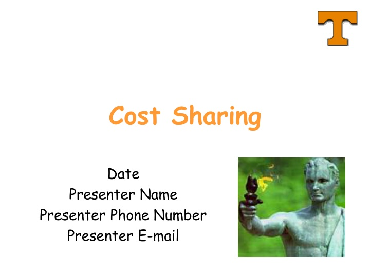 cost sharing n.