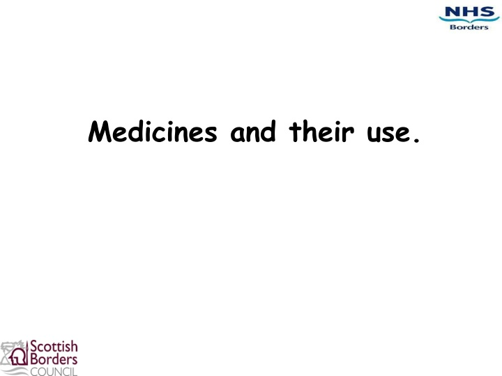 medicines and their use n.