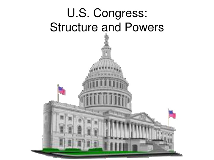u s congress structure and powers n.