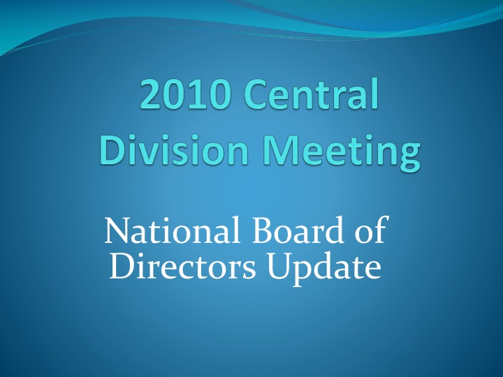 2010 central division meeting n.