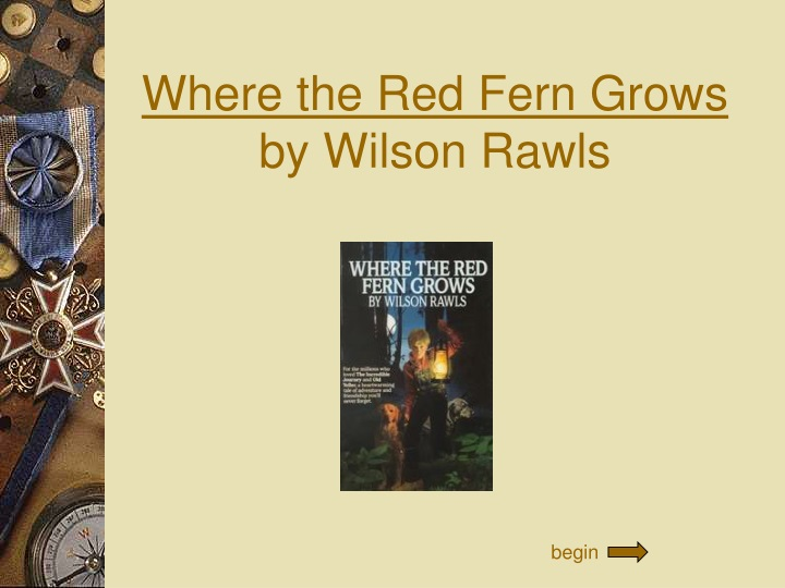 where the red fern grows by wilson rawls n.