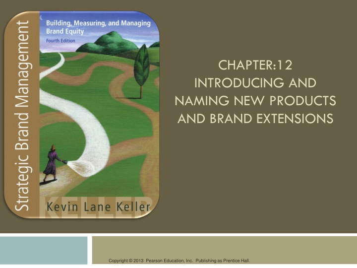 chapter 12 introducing and naming new products and brand extensions n.
