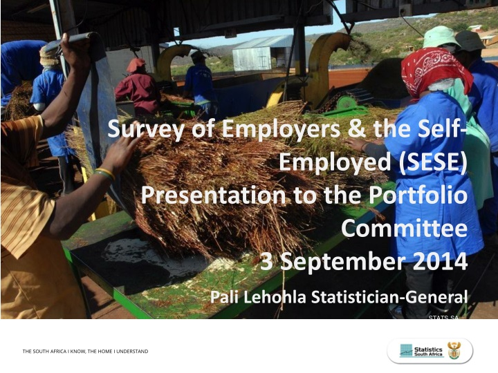 survey of employers the self employed sese n.