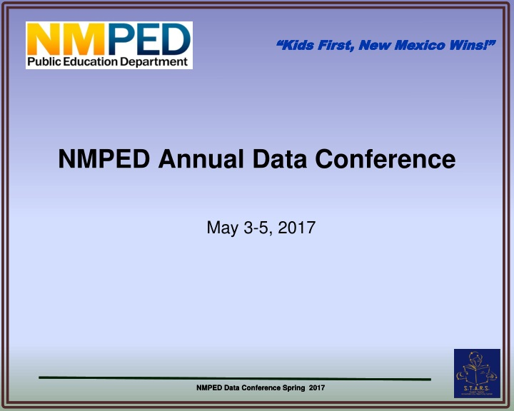 nmped annual data conference n.