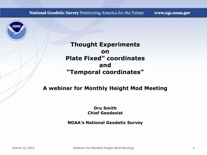 thought experiments on plate fixed coordinates n.