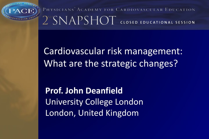 cardiovascular risk management what n.
