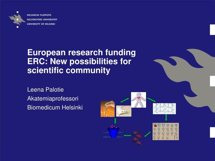 european research funding erc new possibilities for scientific community n.