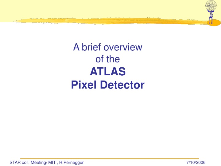 a brief overview of the atlas pixel detector n.