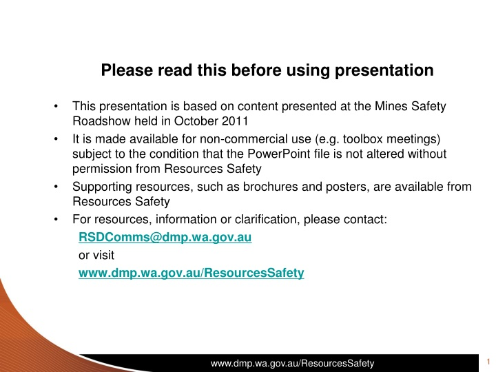 please read this before using presentation this n.