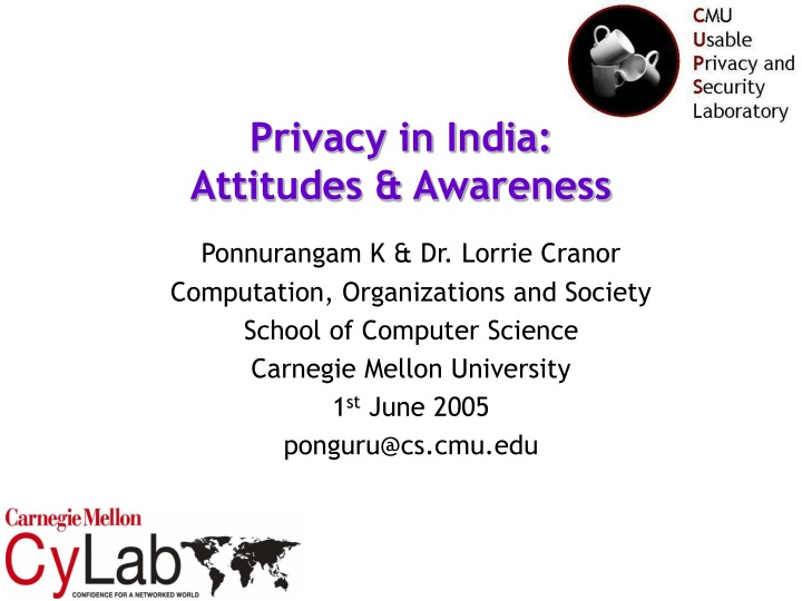privacy in india attitudes awareness n.