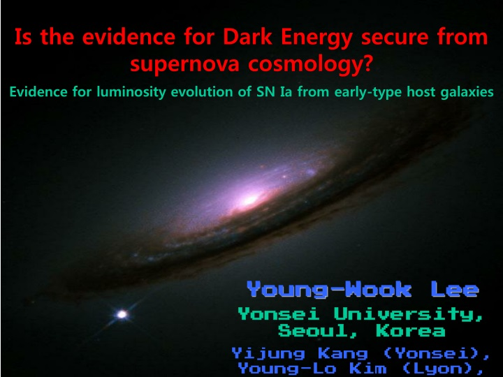 is the evidence for dark energy secure from n.
